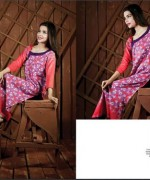 Ittehad Textiles Printed Lawn Shirts 2014 For Women 008