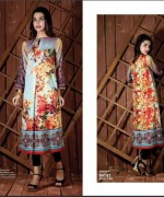 Ittehad Textiles Printed Lawn Shirts 2014 For Women 009