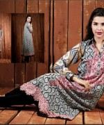 Ittehad Textiles Printed Lawn Shirts 2014 For Women 011