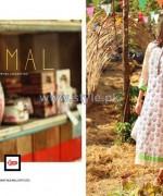 LSM Fabrics Komal Lawn Dresses 2014 For Summer 1