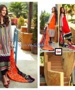 LSM Fabrics Komal Lawn Dresses 2014 For Summer 4