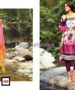 LSM Fabrics Komal Lawn Dresses 2014 For Women 8