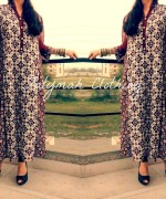 Latest Fashion of Ajrak Dresses for Women002