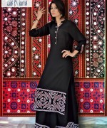 Latest Fashion of Ajrak Dresses for Women008