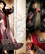 Latest Fashion of Ajrak Dresses for Women009