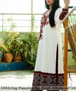 Latest Fashion of Ajrak Dresses for Women011