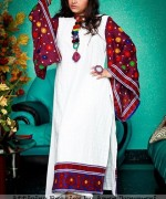 Latest Fashion of Ajrak Dresses for Women012