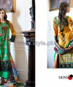 Monsoon Premium Lawn 2014 By Al-Zohaib Textile Volume 1 8