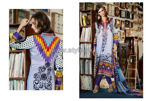 Monsoon Premium Lawn 2014 By Al-Zohaib Textile Volume 1 9