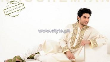 Naushemain Kurta Shalwar Designs 2014 For Men 5