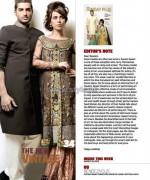 Nida Azwer Wedding Dresses 2014 For Men and Women 4
