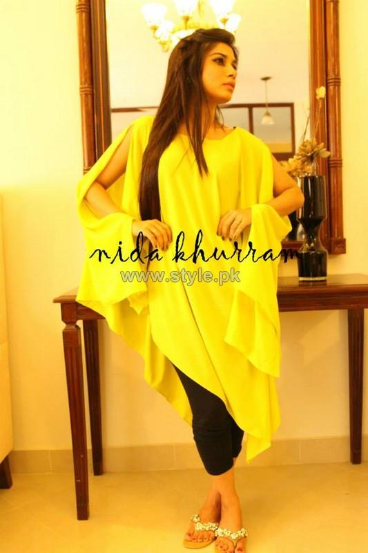 Nida Khurram Summer Dresses 2014 For Girls 1