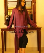 Nida Khurram Summer Dresses 2014 For Girls 5