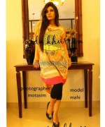Nida Khurram Summer Dresses 2014 For Girls 6