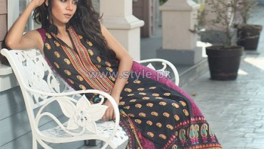 Orient Textiles Spring Summer Dresses 2014 For Women 10