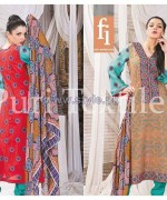 Puri Textiles Lawn Dresses 2014 For Summer 6