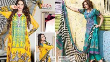 Rashid Textiles Lawn Dresses 2014 Volume 2 For Women 0013