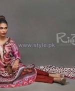 Riwaj Collection 2014 Volume 1 by Shariq Textiles 13