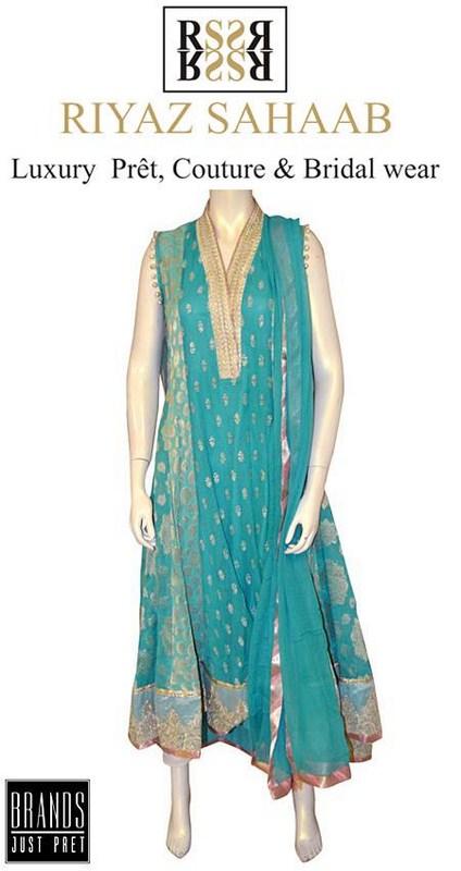 Riyaz Sahaab Spring Dresses 2014 For Women 002