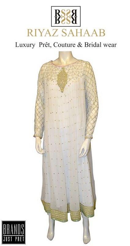Riyaz Sahaab Spring Dresses 2014 For Women 003