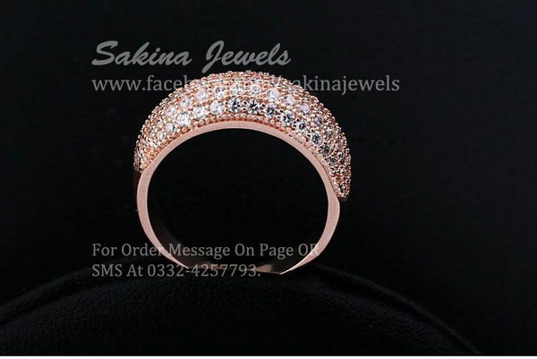 Sakina Jewelery Rings Designs 2014 For Women 001