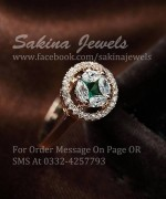 Sakina Jewelery Rings Designs 2014 For Women 0011