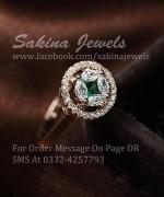 Sakina Jewelery Rings Designs 2014 For Women 0012