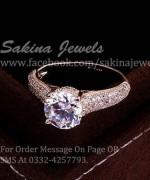 Sakina Jewelery Rings Designs 2014 For Women 002