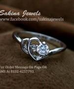 Sakina Jewelery Rings Designs 2014 For Women 003