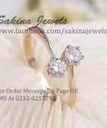 Sakina Jewelery Rings Designs 2014 For Women 004