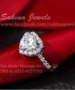 Sakina Jewelery Rings Designs 2014 For Women 005