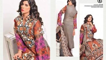 Salam's Textile Summer Dresses 2014 Volume 2 For Women 005