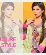 Salam's Textile Summer Dresses 2014 Volume 2 For Women 007