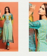 Salam's Textile Summer Dresses 2014 Volume 2 For Women 008