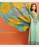 Salam's Textile Summer Dresses 2014 Volume 2 For Women 011