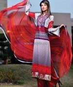 Shaista Cloth Lawn Dresses 2014 For Women 7