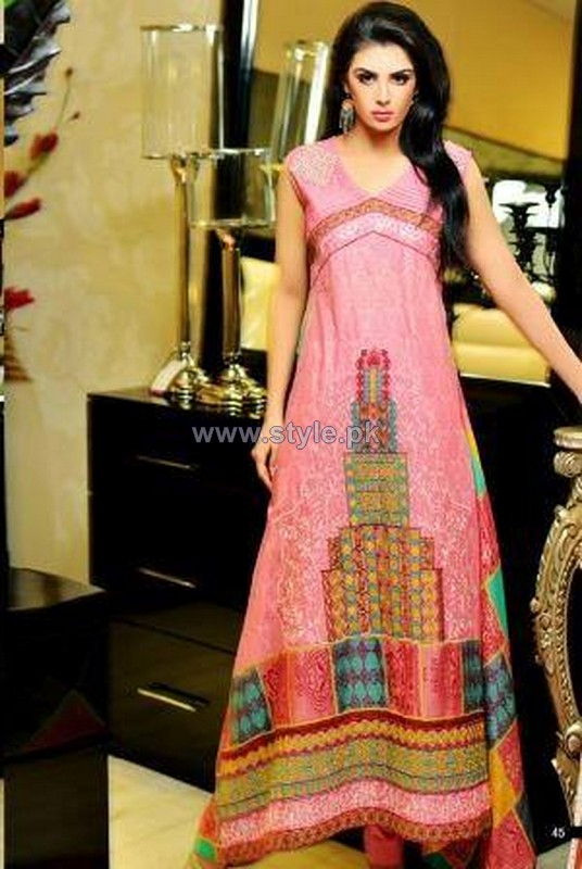 Shaista Cloth Summer Dresses 2014 Volume 2 10
