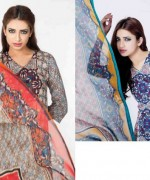 Sitara Textiles Chiffon Lawn Dresses 2014 For Women 001
