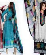 Sitara Textiles Chiffon Lawn Dresses 2014 For Women 0013