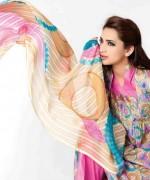 Sitara Textiles Chiffon Lawn Dresses 2014 For Women 0014