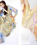 Sitara Textiles Chiffon Lawn Dresses 2014 For Women 002