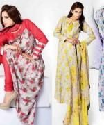 Sitara Textiles Chiffon Lawn Dresses 2014 For Women 003