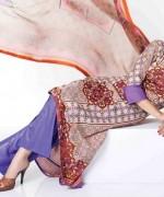 Sitara Textiles Chiffon Lawn Dresses 2014 For Women 004