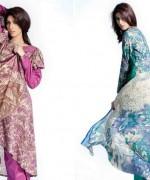 Sitara Textiles Chiffon Lawn Dresses 2014 For Women 005