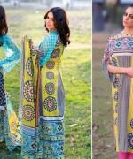 Sitara Textiles Chiffon Lawn Dresses 2014 For Women 007