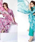 Sitara Textiles Chiffon Lawn Dresses 2014 For Women 008
