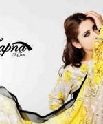 Sitara Textiles Chiffon Lawn Dresses 2014 For Women 009