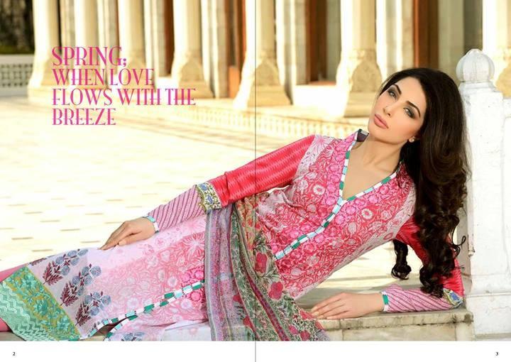 Sobia Nazir Lawn 2014 for Women