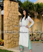 Swaleha Hassam Paracha Party Dresses 2014 For Girls 9