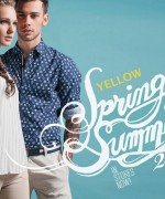 Yellow Spring Dresses 2014 For Women And Men 006